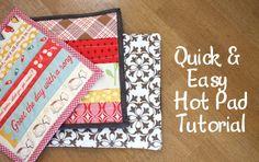 3 hot pad tutorials