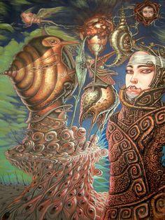 Reine Escargot by Luigi Di Giammarino