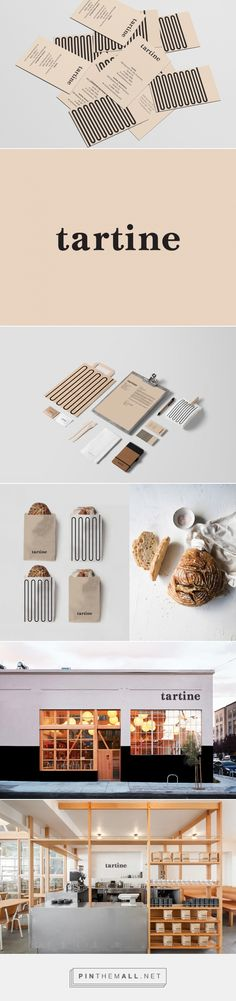 Tartine Bakery / Rebranding on Behance... - a grouped images picture - Pin Them All