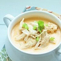 A low carb soup recipe from Mellissa Sevigny of I Breathe Im Hungry