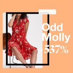 According to our 12 million monthly users, these were the most popular brands of Consumer Behaviour, Odd Molly, Red Midi Dress, Most Popular, Sustainability, Stage, Floral Prints, Label, Delivery