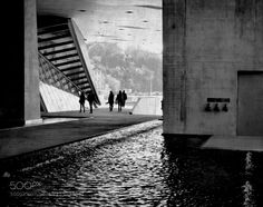 le p@ssage - Pinned by Mak Khalaf LYON Black and White ConfluencesLyonb&wlumixmuséen&bpanasonictrip by ao-ma-me
