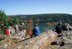 What a view! Devil's Lake State Park offers spectacular views of seasonal colors.