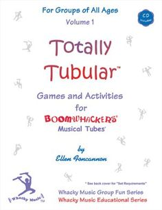 Totally Tubular (Book & CD ) by Ellen Foxca Music Courses, In Ear Monitors, Movement Activities, Music Classroom, Card Templates, Good Music, Card Games, No Response, Musicals