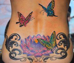 Hawaiian Flower Back Tattoos - Best Of Hawaiian Flower Back Tattoos, Flower Tattoos and their Meaning Lotus Flower Tattoos