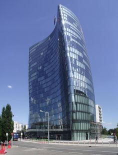 Office of OMV, an Austrian integrated oil and gas company. Gas Company, Oil And Gas, Vienna, Austria, Skyscraper, Multi Story Building, Skyscrapers