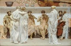 The Quartet by Albert Joseph Moore
