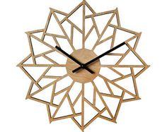 18 pinwheel MURALE HORLOGE contemporaine au Laser découpe de