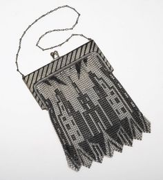 Whiting and Davis Art Deco mesh bag