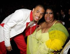 Aretha Franklin and Chris Brown Music Icon, Soul Music, Tennessee, Black Celebrities, Celebs, Celebrities Before And After, Old School Music, The Power Of Music, Ted