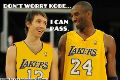 Can't wait to see nash and kobe come up the court together!!