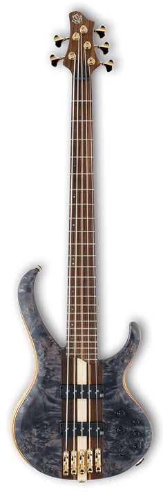 """Ibanez BTB1605 Premium 5-String Bass Guitar Looking at this beauty, the words """"custom"""" and """"boutique"""" instantly come to mind. Select materials, top-of-the-line components, and a neck-thru body are all"""
