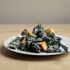 Classic Caesar and Kale Salad Combine Forces