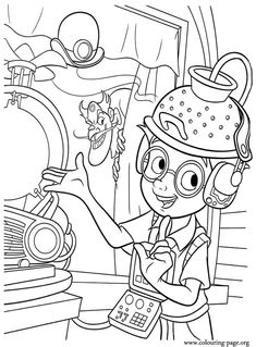 Meet the Robinsons coloring picture Disney Coloring Pages