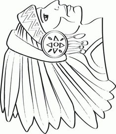 Coloring Page - Indian coloring pages 6