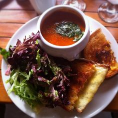 Grilled Cheese & Tomato Soup is a perfect pairing! Share your own #PerfectPairing with us on Twitter and you could win dinner for two! Just follow OpenTable on Twitter and tweet your favorite food combo with the hashtag. https://twitter.com/opentable