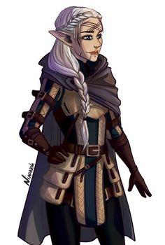 Warden-Commander Mahariel