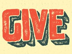 Give by Nathan Yoder