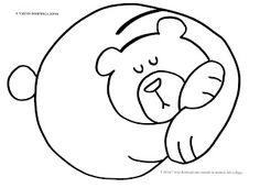 La maestra Linda : Autunno: gli animali che vanno in letargo Alphabet Worksheets, Preschool Worksheets, Lap Book Templates, Bear Template, Kids Klub, January Crafts, Montessori Art, Preschool Writing, Up Book