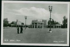 Vintage photo postcard showing the Pedion tou Areos park in Athens. -ebay