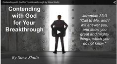 Contending with God for Your Breakthrough Christian Life Coaching, I Need You, Life Changing, Blessings, Blessed, Messages, God, Watch, Dios