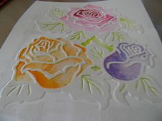Pas à pas embossage à froid et embossage à chaud 8 Avril, Plastic Cutting Board, Emboss, Cards