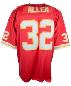 a832515f2836 Mitchell   Ness Men s Marcus Allen Kansas City Chiefs Replica Throwback  Jersey - Red S