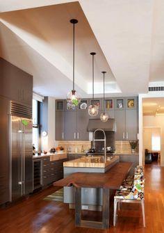 Loft-style kitchen