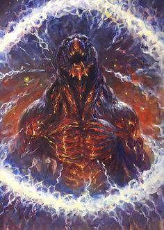 King Kong, Godzilla Resurgence, Aliens, Godzilla Franchise, Godzilla Wallpaper, Big Scary, Beast Creature, Classic Monsters, Science Fiction Art
