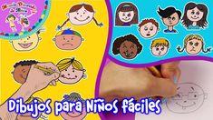 #dibujosdeniños #comodibujarunacara #bidujosfaciles #dibujar Dibujos de niños | Cómo dibujar una cara | Dibujos fáciles para dibujar Drawings Of Faces, Drawing For Kids, Learn To Draw, Easy Crafts, Step By Step, Tutorials