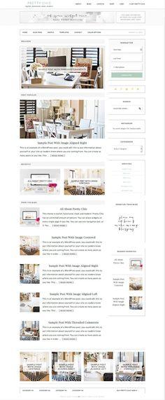 Pretty Chic WordPress Modern eCommerce Theme - www.wpchats.com