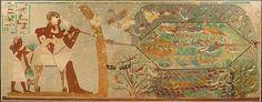 Aves Red, Tumba de Khnumhotep, Saqqara