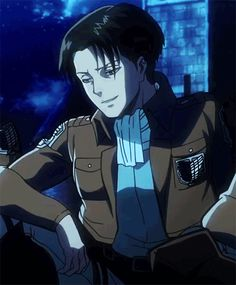 Levi smiled. LEVI ACTUALLY SMILED. I have never seen him do that before! (He's never had much cause to, but still...)