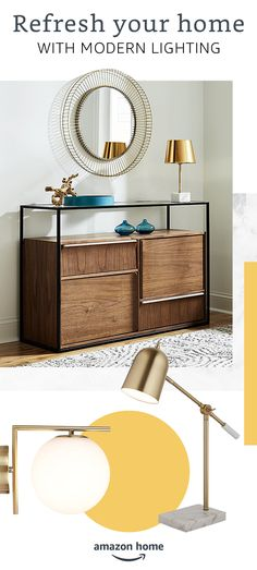 Online shopping for Modern lighting from a great selection at Home & Kitchen Store. 70s Decor, Amazon Home, Guest Bedrooms, Home Decor Accessories, Modern Lighting, Home Kitchens, Decoration, Home Furniture, Family Room