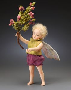 Heather Fairy by R. John Wright, Dollmasters ($690)