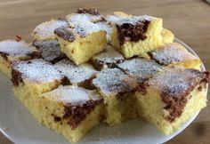 Narancsos kocka Amarettóval   NOSALTY Hungarian Recipes, Apple Cake, Sweet Cakes, Pound Cake, Relleno, Fun Desserts, Cake Recipes, Waffles, French Toast