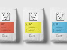 Visual identity for MOK. MOK Specialty Coffee Roastery & Bar is a fast growing specialty coffee roastery and is now one of the leading micro roasters in Belgium. Coffee Shop Branding, Coffee Logo, Coffee Type, Logo Branding, Bean Bag Design, Coffee Bean Bags, Coffee Packaging, Coffee Labels, Label Design