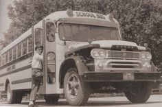 Frank Rego school bus driver 60's.