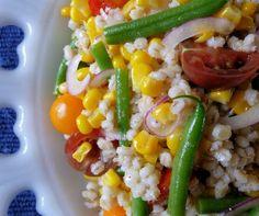 Corn & Barley Salad