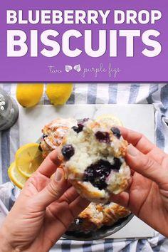 Easy Gluten Free Desserts, Easy Desserts, Pavlova, Brunch Recipes, Dessert Recipes, Blueberry Biscuits, Cheesecake Desserts, Cheesecake Strawberries, Sauce Creme