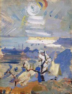 John Marin - Weehawken Sequence, No. 30