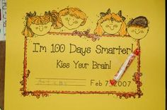 Lots of activities on this blog for 100 day