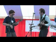 Jerusalem Ridge is not as old as some of the old ballads, but it is a great tune written by Bill Monroe and Kenny Baker...played here by Tim O'Brien and Chris Thiele.