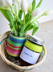 Flower Bulb For Planting In A Jar