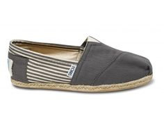 With every pair you purchase, TOMS will give a pair of new shoes to a child in need. One for One. I WANT THESE...