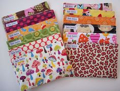 Wrap a small gift for kids in this, they reuse it time and again in their lunches, $27 for five, sacksavers