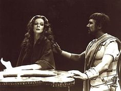 """Maggie Smith and Keith Baxter in """"Antony and Cleopatra"""". Directed by Robin Phillips, Stratford, Ontario, 1976 Shakespeare Festival, Shakespeare Plays, William Shakespeare, British Actresses, Actors & Actresses, Stratford Shakespeare, Companion Of Honour, Stratford Festival, Theatre Stage"""