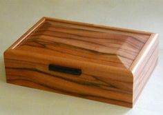 Jewelry Boxes Figured red gum