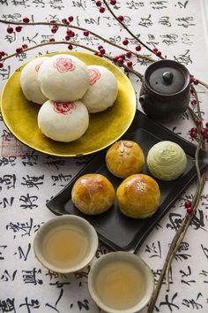 moon cakes | Taiwanese food