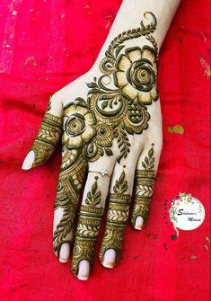 Kashee's Mehndi Designs, Rajasthani Mehndi Designs, Pretty Henna Designs, Back Hand Mehndi Designs, Latest Bridal Mehndi Designs, Stylish Mehndi Designs, Mehndi Designs For Beginners, Mehndi Designs For Girls, Mehndi Design Photos